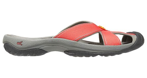 Keen W's Bali Hot Coral/Neutral Gray
